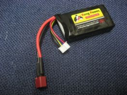 Kong Power 11.1v 1100mAh 20c LiPo Rechargeable Battery (Single Pack)(Deans)