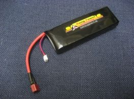 Kong Power 11.1v 3300mAh 25c LiPo Rechargeable Battery (Single Pack)(Deans)