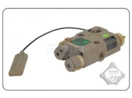 FMA AN-PEQ-15 Upgrade Version LED White Light & Green Laser with IR Lenses (Dark Earth)