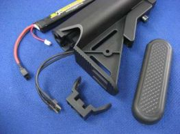 Fire-Support LiPo Stock Conversion for Marui Recoil RECCE SERVICE