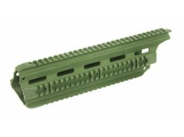ICS CXP-16 Metal RIS Handguard L318 (TAN) (Long Version)