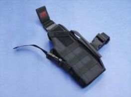 GhostGear Modular Type 3 Way Tactical Holster for MP7 MK23 Torch Black