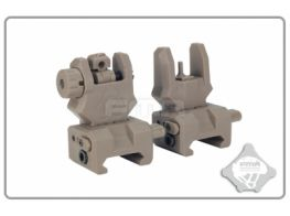 FMA Front and Rear Sight GEN 3 (Dark Earth)