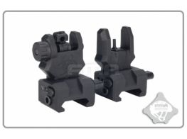 FMA Front and Rear Sight GEN 3 (Black)