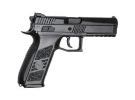 ASG CZ P-09 GBB Pistol (Including Case)(Black)