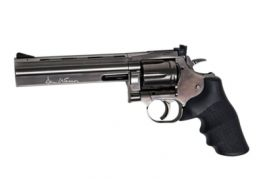 ASG DW 715 6 Inch CO2 Dan Wesson Revolver Pistol (Steel Grey)