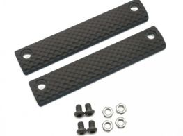 Dytac UXR 3 & 3.1 Standard Three-Hole Panel (Pack of 2) (Black)