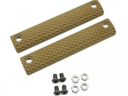 Dytac UXR 3 & 3.1 Standard Three-Hole Panel (Pack of 2) (Dark Earth)