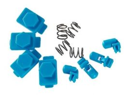 Dytac Hexmag Airsoft HexID in Nimbus Blue (4x Hexgon Latchplates / 4x Followers)