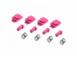 Dytac Hexmag Airsoft HexID in Panther Pink (4x Hexgon Latchplates / 4x Followers)