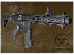 Ares Amoeba Honey Badger Airsoft Gun AEG (Black)