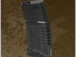 Ares Amoeba M4 Magazine Nylon without Metal Internals (Black) (AM4-140S-10-BK)
