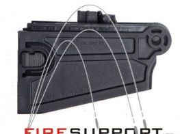 ASG M4/M16 Magwell Adapter for CZ 805 BREN A1 and A2 (Black)