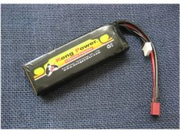 Kong Power 11.1v 1400 mah 20C Rechargeable Lipo Battery (Deans Fitted)