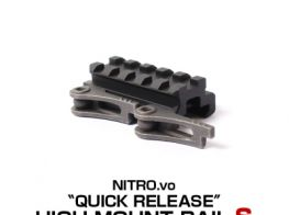 Laylax(NitroV) Quick Release High Mount Rail (S) (55mm)