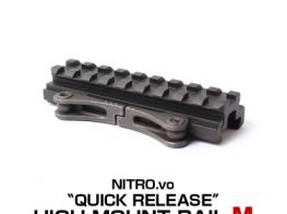 Laylax (NitroV) Quick Release High Mount Rail M (95mm)