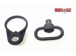 Angy Gun CNC Rear Receiver QD Swivel Set TM M4 MWS (Steel QD Sling Swivel inclued)