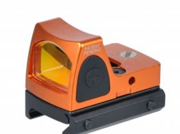 Gbase RMR Adjustable Sight (LED) 3.25 MOA Red Dot (Orange)