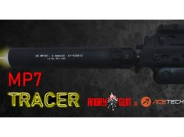 Angry Gun MP7 Tracer Silencer unit for Marui MP7.