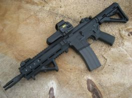FireSupport Custom Marui L119A2 Gas Blowback. (B-Spec)