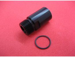 LPE CNC Machined 14mm CCW Thread Adapter For Tokyo Marui MP7