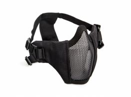 ASG Strike Metal Mesh Lower Mask. (Black)