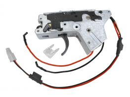 ICS M4 / M16 CS4 / CXP AEG Lower Gearbox. Rear Wired. (Incl. MOSFET)