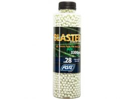 ASG Airsoft BB Tracer 0.28g 3300 pcs in a bottle.(Green)