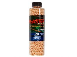 ASG Blaster BB Tracer, 0.20g, 3300pcs bottle (Red)