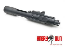 ANGRY GUN Complete MWS High Speed Bolt Carrier with MPA Nozzle - SFOBC STYLE (Black)