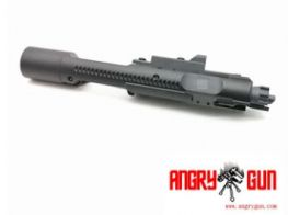 ANGRY GUN Complete MWS High Speed Bolt Carrier with MPA Nozzle - 416 STYLE (Black)