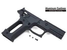 Guarder Black Aluminum Frame For Marui P226R (Late Ver. Marking/Black)