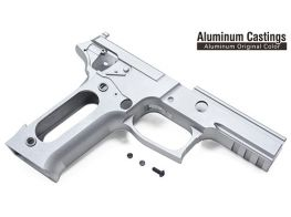 Guarder Aluminum Silver Frame For Marui P226 E2 (E2 Marking/Alum. Original)