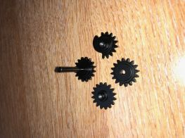 G&G Selector gear set for ETU models