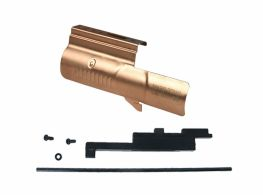 ICS PDW9 Decorated Bolt Cover Parts (Rose Gold)(Laser Engraving)