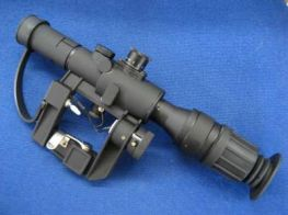 ASG 4x26 SVD Dragunov Scope with PSO-1 Illuminated Reticle