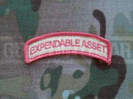 Gun Point Gear Expendable Asset - Strawberry Velcro Patch