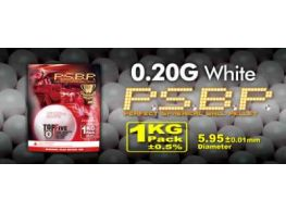 G&G .20g Perfect BB's 5000 rnd Resealable Bag (White)