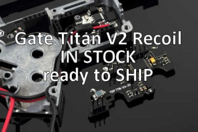 Gate TITAN Mosfet Marui Recoil V2 NGRS Advanced Set [Rear Wired]
