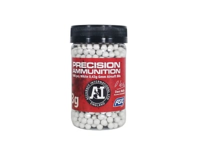 ASG .43g BB 1000 Round Bottle (White)