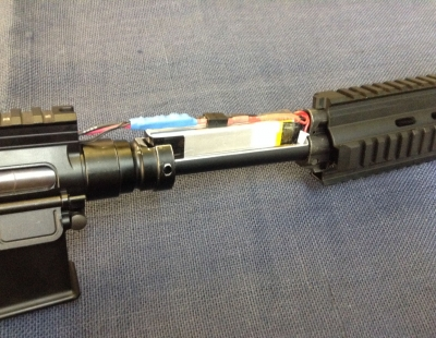 Marui Recoil 416C LiPo Within RIS Conversion