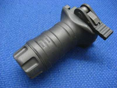 Gbase QD BattleGrip RIS Mounted Vertical Foregrip (Short Version)(Black)