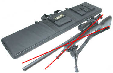 Guarder Weapon Transport Case (51 Inch)