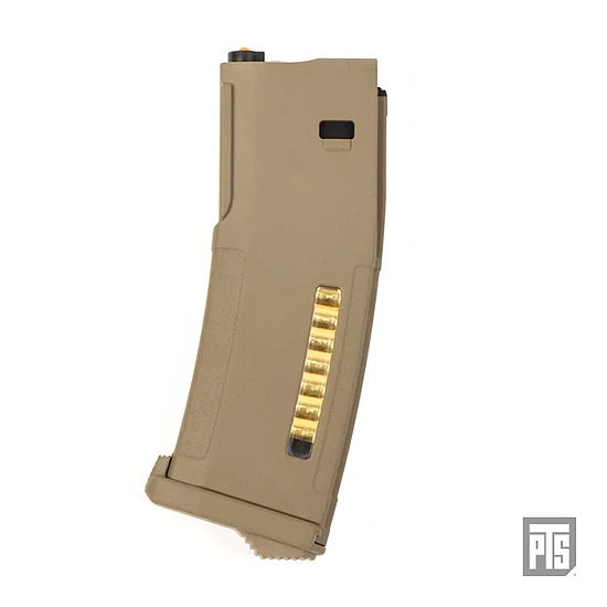 PTS EPM Marui Recoil M4/SCAR Magazines (Dark Earth)(120 rnd)