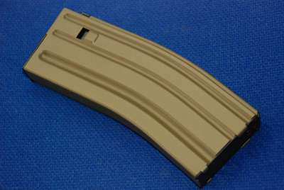 Marui Recoil M4 Mid-Cap Magazine for Sopmod/SCAR-L CQC (Dark Earth)(82 rnd)