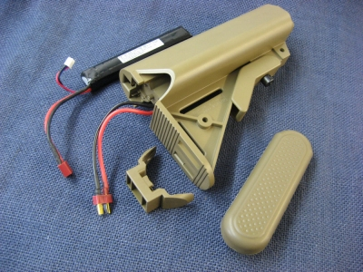 Fire-Support LiPo Stock Conversion for Marui 416 Delta Recoil
