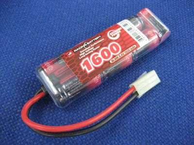 Vapex 8.4v 1600mAh NiMH Mini Rechargable Battery (Mini Tamiya)(Type 03)